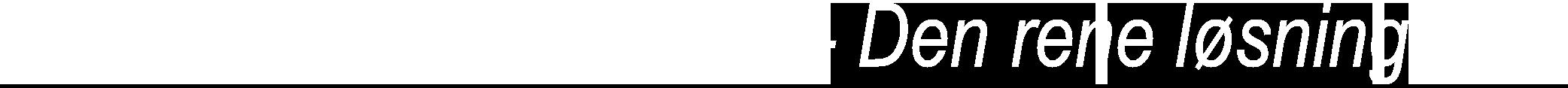 KENT Højtryksrensere Logo Undertekst